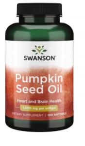 Swanson Pumpkin Seed Oil 1000 mg