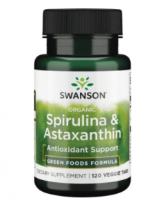 Swanson Organic Spirulina & Astaxanthin