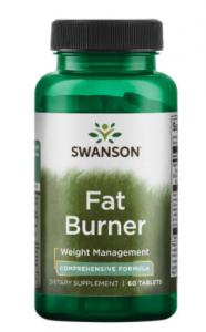 Swanson Fat Burner Tauku Dedzinātāji Svara Kontrole