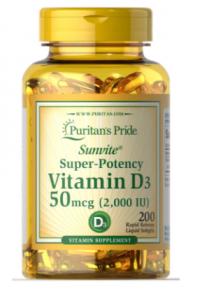 Puritan's Pride Vitamin D-3 2000 iu