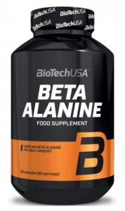 Biotech Usa Beta Alanine 4000 mg Aminoskābes Pirms Treniņa Un Еnerģētiķi