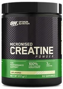 Optimum Nutrition Micronized Creatine Powder Kreatinas