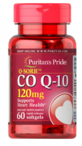 Puritan's Pride Coenzyme Q10 120 mg