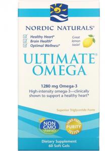 Nordic Naturals Ultimate Omega 1280 mg Lemon