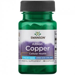 Swanson Chelated Copper 2 mg