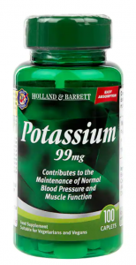 Holland & Barrett Potassium 99 mg