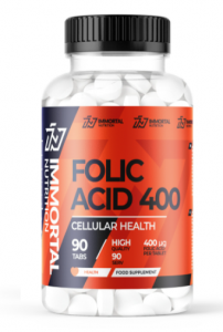 Immortal Nutrition Folic Acid 400 mg