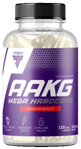 Trec Nutrition AAKG Mega Hardcore Slāpekļa Oksīda Pastiprinātāji L-Arginīns Aminoskābes Pirms Treniņa Un Еnerģētiķi