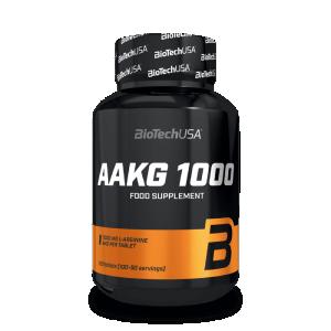 Biotech Usa AAKG 1000 Slāpekļa Oksīda Pastiprinātāji L-Arginīns Aminoskābes Pirms Treniņa Un Еnerģētiķi