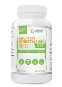 WISH Pharmaceutical Natural Quercetin 98% Forte 400 mg
