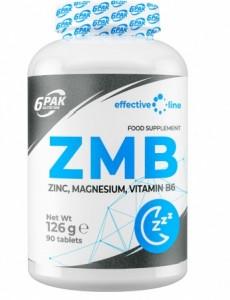 6Pak Nutrition ZMB ZMA Testosterona Līmeņa Atbalsts