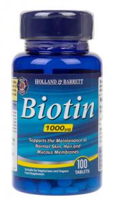 Holland & Barrett Biotin 1000 mcg