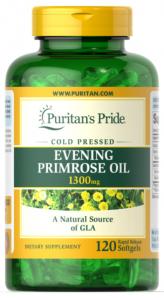 Puritan's Pride Evening Primrose Oil 1300 mg with GLA