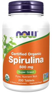 Now Foods Spirulina 500 mg