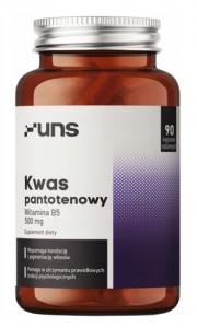 UNS Pantothenic acid Vitamin B-5 500 mg