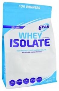6Pak Nutrition Whey Isolate Sūkalu Olbaltumvielu Izolāts, WPI Proteīni