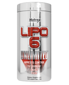 Nutrex Lipo-6 Unlimited Fat Burners Weight Management