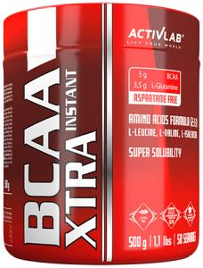 Activlab BCAA Xtra Instant Aminoskābju Maisījumi L-Glutamīns Aminoskābes Pēc Slodzes Un Reģenerācija