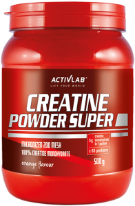 Activlab Creatine Powder Kreatiinmonohüdraat