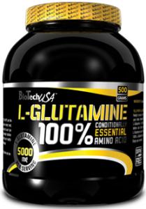 Biotech Usa L-Glutamine Amino Acids Post Workout & Recovery