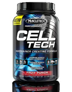 MuscleTech Cell-Tech BCAA Aminohapped Kreatiin Pärast treeningut ja taastumist