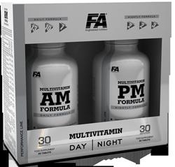 FA Nutrition Multivitamin AM + PM Formula Спортивные Мультивитамины
