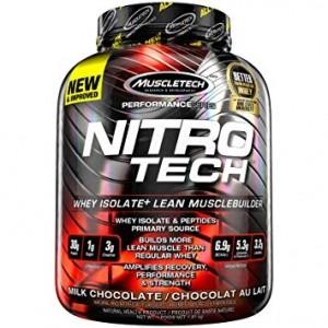 MuscleTech Nitro-Tech Концентрат Сывороточного Белка, WPC Протеины Креатин