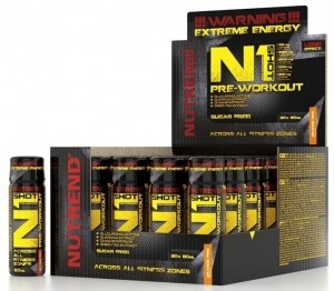 Nutrend N1 Shot Nitric Oxide Boosters Drinks & Bars