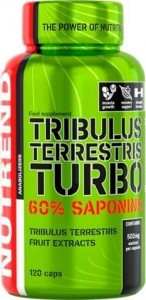 Nutrend Tribulus Terrestris Turbo Testosterone Level Support