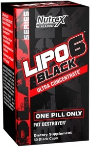 Nutrex Lipo-6 Black Ultra Concentrate Fat Burners Weight Management