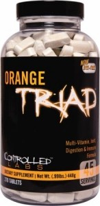 Controlled Labs Orange Triad Sports Multivitamins