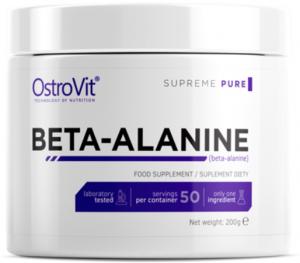 OstroVit Beta Alanine Бета Аланин Аминокислоты Пeред Тренировкой И Энергетики