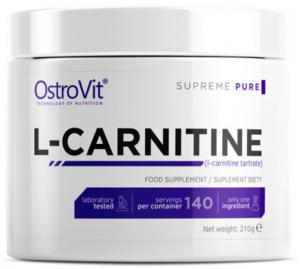 OstroVit L-Carnitine Powder L-Karnitīns Svara Kontrole