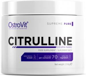 OstroVit Citrulline Nitric Oxide Boosters L-Citrulline Amino Acids Pre Workout & Energy
