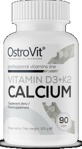 OstroVit Vitamin D3 + K2 + Calcium