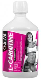 OstroVit L-Carnitine + Green Tea L-Karnitīns Zaļā Tēja Svara Kontrole