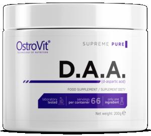 OstroVit D.A.A. D-Аспарагиновая Кислота, DAA Поддержка Уровня Тестостерона