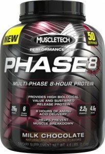 MuscleTech Phase 8 Casein Proteins
