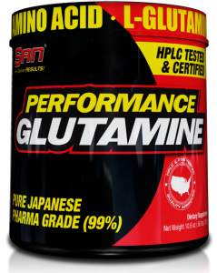 SAN Performance Glutamine L-Glutamine Amino Acids Post Workout & Recovery