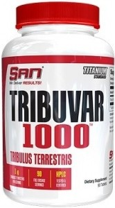 SAN Tribuvar 1000 Tribulus Terrestris Testosterona Līmeņa Atbalsts