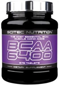 Scitec Nutrition BCAA 6400 Aminoskābes
