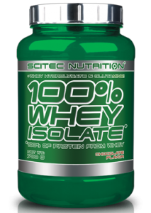 Scitec Nutrition 100% Whey Isolate Sūkalu Olbaltumvielu Izolāts, WPI Proteīni