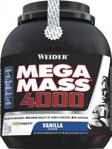 Weider Mega Mass 4000 Weight Gainers
