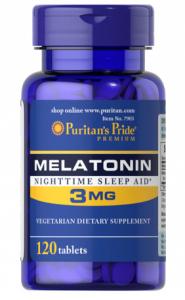 Puritan's Pride Melatonin 3 mg