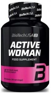 Biotech Usa Active Woman Moterims Multivitaminai sportui