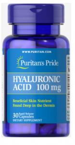 Puritan's Pride Hyaluronic Acid 100 mg