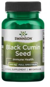 Swanson Black Cumin Seed 400 mg