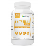 WISH Pharmaceutical L-Citrulline 500 mg Nitric Oxide Boosters Amino Acids Pre Workout & Energy