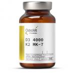 OstroVit Vitamin D3 4000+ vitamin K2 MK-7