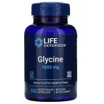 Life Extension Glycine 1000 mg L-Glicīns Aminoskābes